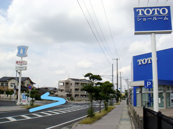 岡山事務所地図